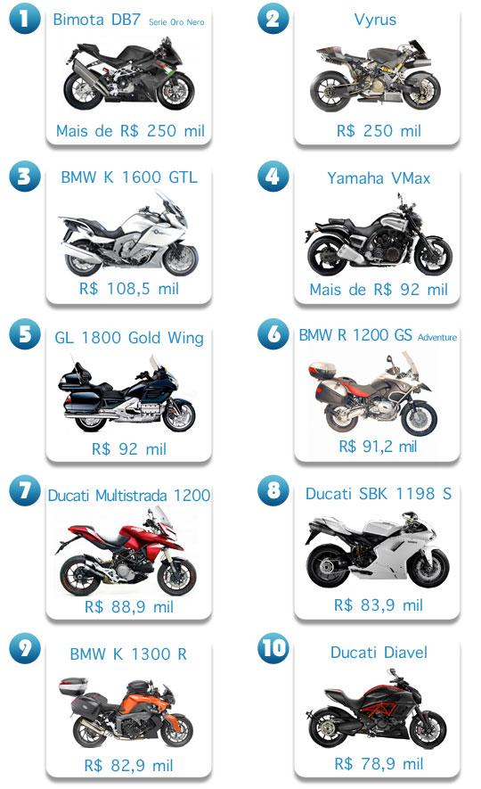 10 motos: