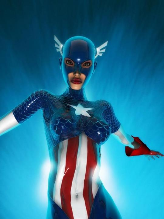 E se 10 super-heróis fossem mulheres 32