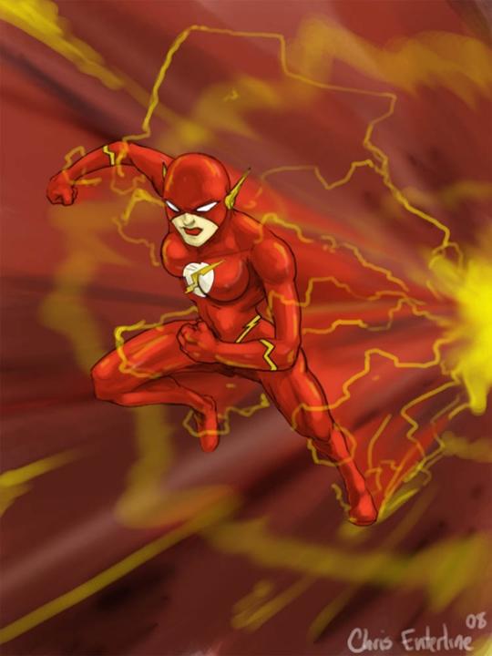 E se 10 super-heróis fossem mulheres 5-flash1