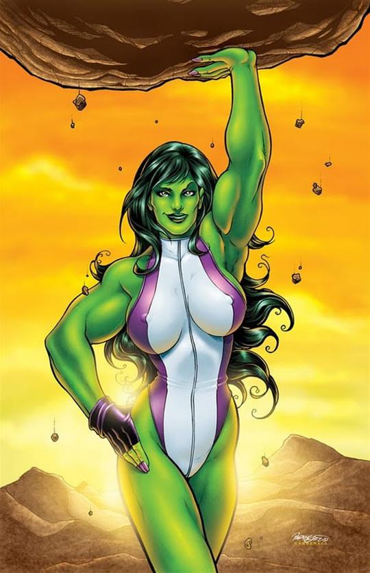 E se 10 super-heróis fossem mulheres 8hulk1