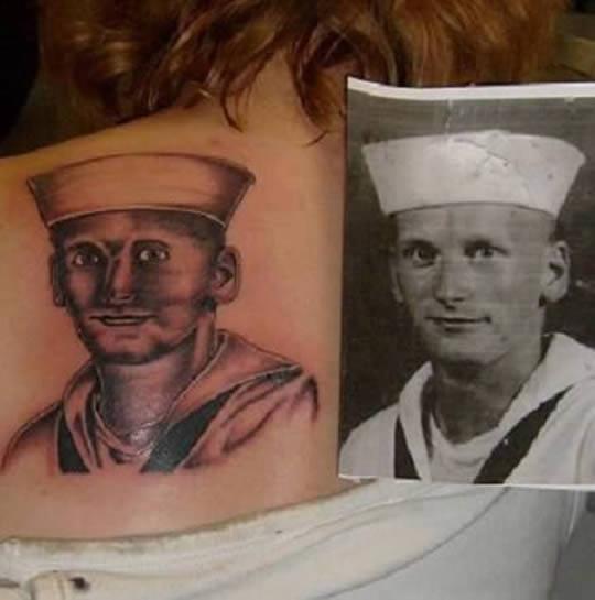 10 Tatuagens de rostos que deram muito errado!