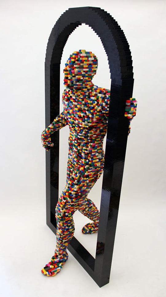 10 esculturas do maior artista de Lego do mundo