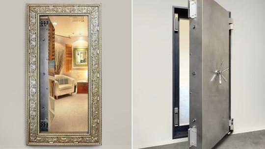 10 ideias de passagens secretas para fazer na sua casa. Black Bedroom Furniture Sets. Home Design Ideas