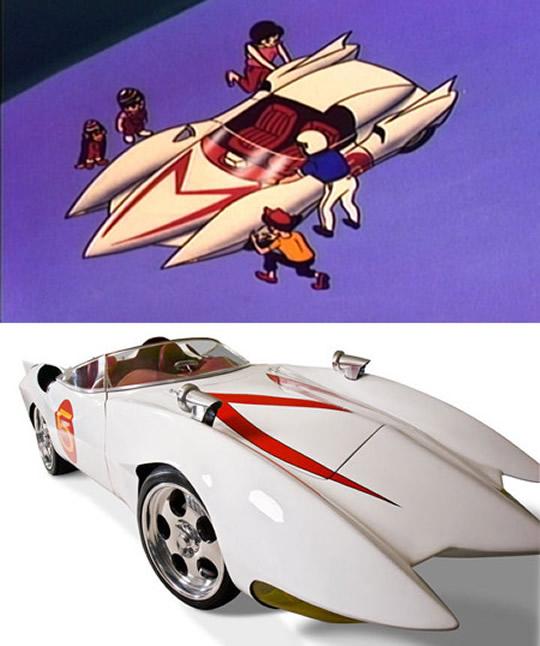 10 Carros Reais Inspirados Em Desenhos Animados Lista 10