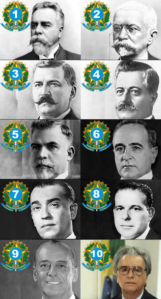 presidentes brasil