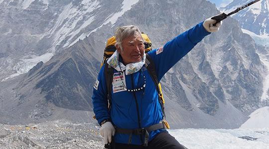 alpinista mais velho do mundo