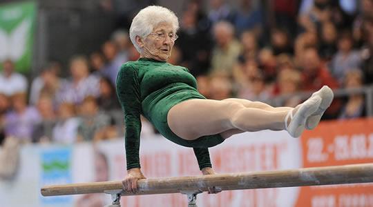 ginasta mais velha do mundo