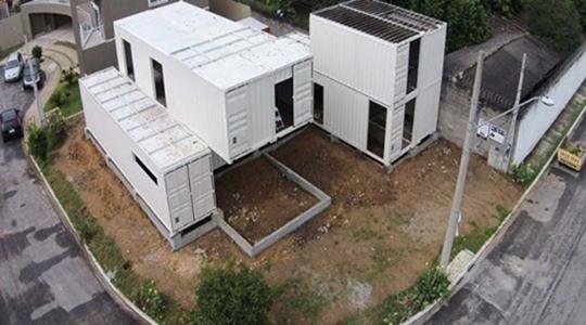 2 post - casa container