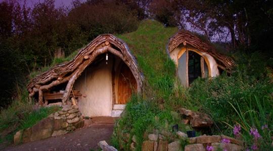 2 post - casa hobbit