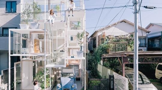 2 post - casa transparente