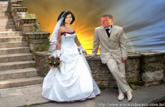 10 montagens bizarras de fotos de casamentos