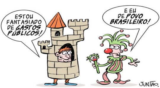 10 charges que criticam o carnaval