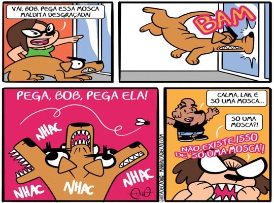 10 tirinhas de minha vida de cão por Digo Freitas